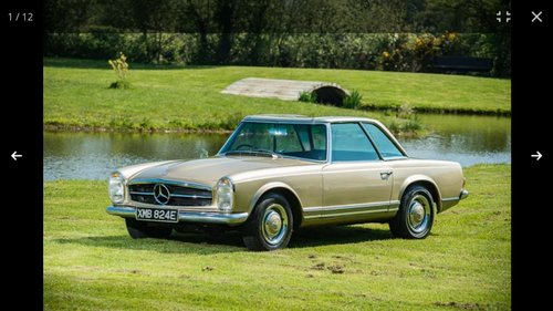 1967 250 SL Pagoda For Sale (picture 2 of 6)