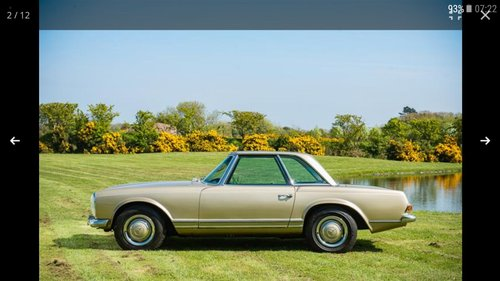 1967 250 SL Pagoda For Sale (picture 3 of 6)