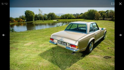 1967 250 SL Pagoda For Sale (picture 4 of 6)