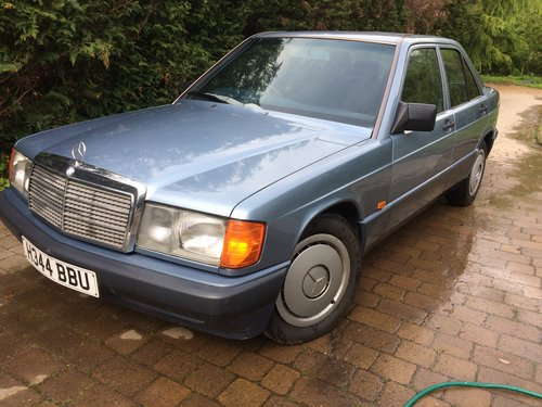 1990 Mercedes 190 D 2.5 Diesel 62000 miles Auto For Sale (picture 1 of 4)