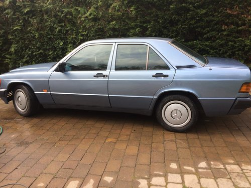 1990 Mercedes 190 D 2.5 Diesel 62000 miles Auto For Sale (picture 2 of 4)