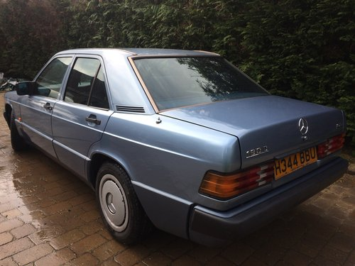 1990 Mercedes 190 D 2.5 Diesel 62000 miles Auto For Sale (picture 3 of 4)