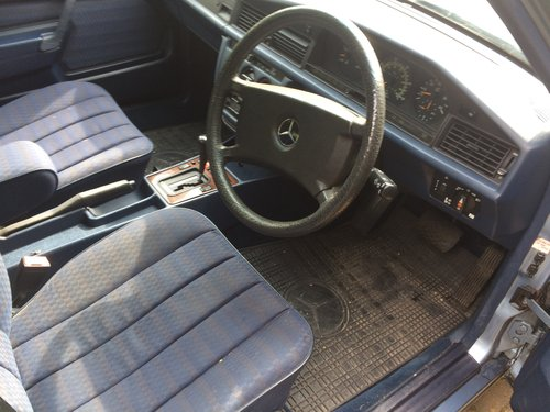 1990 Mercedes 190 D 2.5 Diesel 62000 miles Auto For Sale (picture 4 of 4)