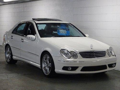 2004 Mercedes-Benz C 5.4 AMG 4dr C55 5.4 V8 AMG HUGE SPEC For Sale (picture 1 of 6)