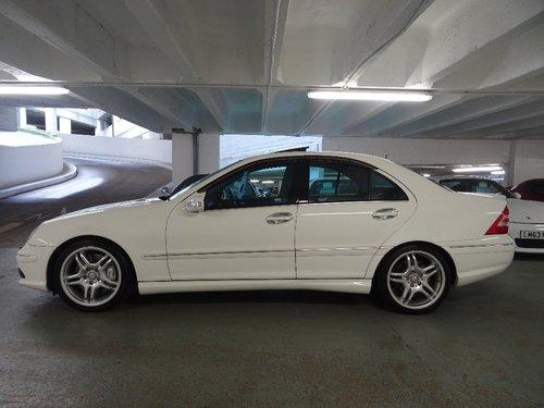 2004 Mercedes-Benz C 5.4 AMG 4dr C55 5.4 V8 AMG HUGE SPEC For Sale (picture 2 of 6)