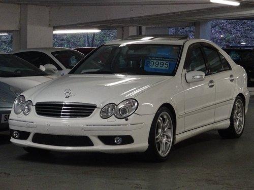 2004 Mercedes-Benz C 5.4 AMG 4dr C55 5.4 V8 AMG HUGE SPEC For Sale (picture 4 of 6)