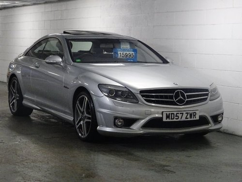 2007 Mercedes-Benz CL 6.2 CL63 AMG 7G-Tronic 2dr AMG + HUGE SPEC For Sale (picture 1 of 6)