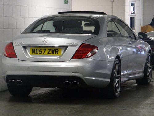 2007 Mercedes-Benz CL 6.2 CL63 AMG 7G-Tronic 2dr AMG + HUGE SPEC For Sale (picture 3 of 6)