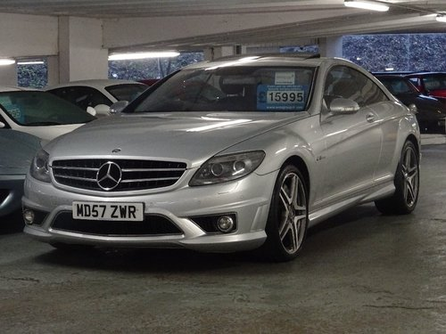 2007 Mercedes-Benz CL 6.2 CL63 AMG 7G-Tronic 2dr AMG + HUGE SPEC For Sale (picture 4 of 6)