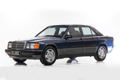 1991 Mercedes 190E 1.8 LHD original 17.000km  SOLD (picture 1 of 6)