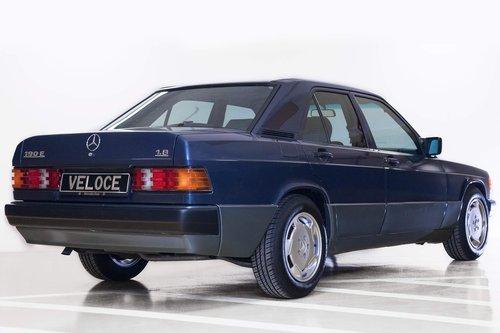 1991 Mercedes 190E 1.8 LHD original 17.000km  SOLD (picture 2 of 6)