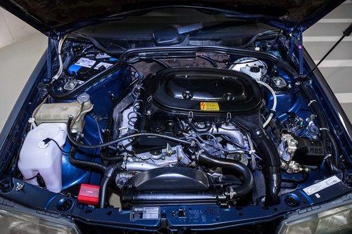 1991 Mercedes 190E 1.8 LHD original 17.000km  SOLD (picture 5 of 6)