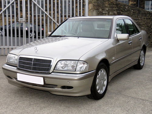 1998 Mercedes W202 C240 V6 Eleg. Auto(5) - 56K - FSH - Immaculate SOLD (picture 1 of 6)