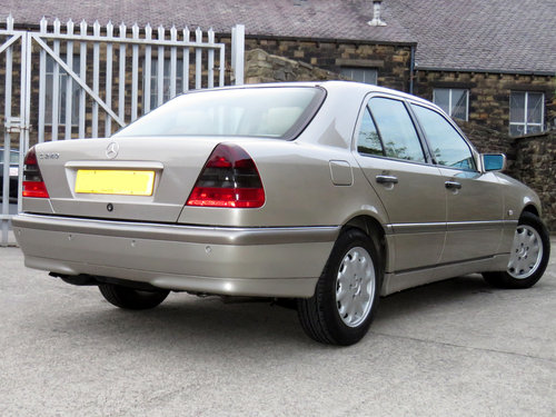 1998 Mercedes W202 C240 V6 Eleg. Auto(5) - 56K - FSH - Immaculate SOLD (picture 2 of 6)