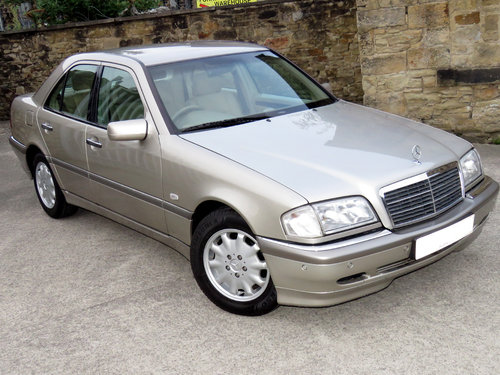 1998 Mercedes W202 C240 V6 Eleg. Auto(5) - 56K - FSH - Immaculate SOLD (picture 3 of 6)