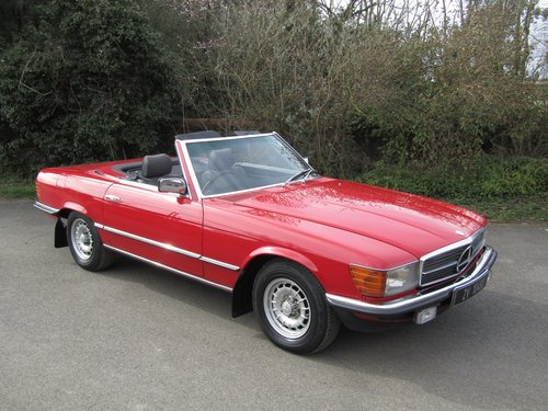 1980 Mercedes-Benz SL 280 Automatic SOLD (picture 1 of 6)