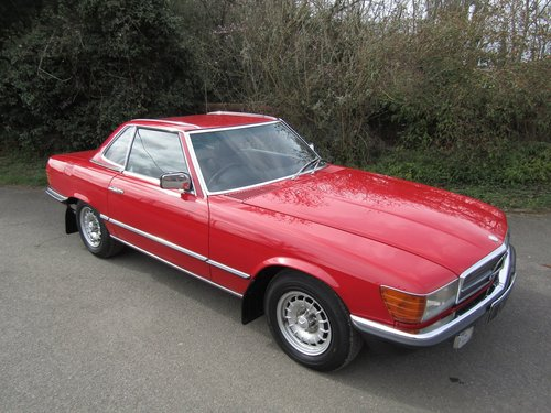 1980 Mercedes-Benz SL 280 Automatic SOLD (picture 3 of 6)
