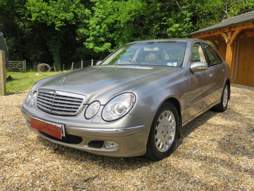 2004 Mercedes E270 Cdi Elegance (23000 Miles From New) SOLD (picture 1 of 6)