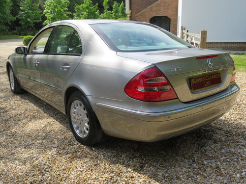 2004 Mercedes E270 Cdi Elegance (23000 Miles From New) SOLD (picture 2 of 6)