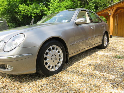 2004 Mercedes E270 Cdi Elegance (23000 Miles From New) SOLD (picture 3 of 6)