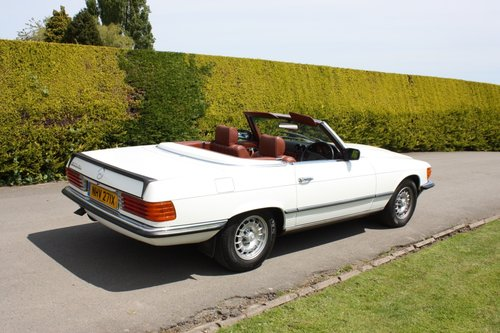1982 Mercedes 500SL  only 32000 miles W107 For Sale (picture 6 of 6)