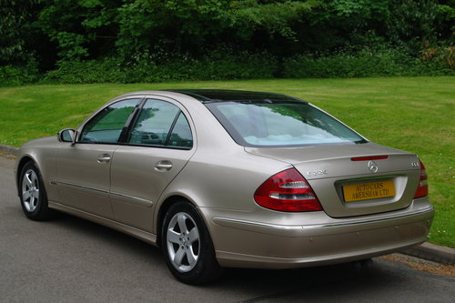 2004 Mercedes E220 CDi Avantgarde. Diesel. Auto. Hi Spec. Bargain SOLD (picture 6 of 6)