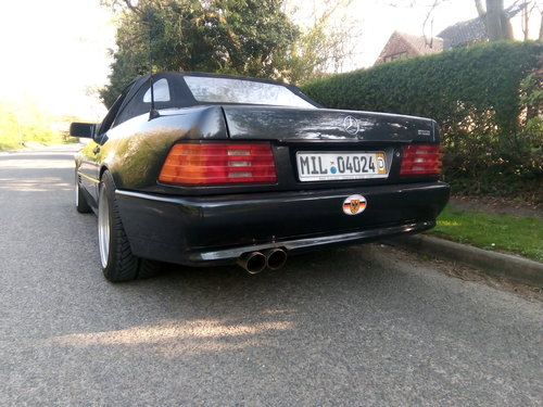 1994 Mercedes SL500-AMG Style, Lefthand drive For Sale (picture 1 of 6)