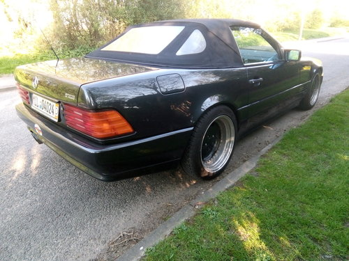 1994 Mercedes SL500-AMG Style, Lefthand drive For Sale (picture 2 of 6)