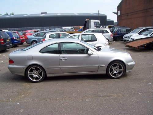 2000 MERCEDES CLK 230 AUTO SOLD (picture 1 of 6)