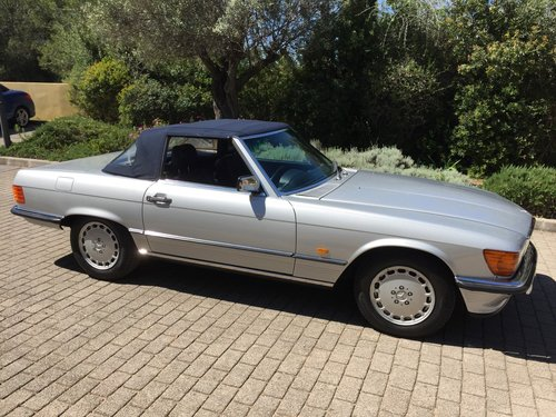 1986 MERCEDES 300SL SPORTS W107 For Sale (picture 1 of 6)
