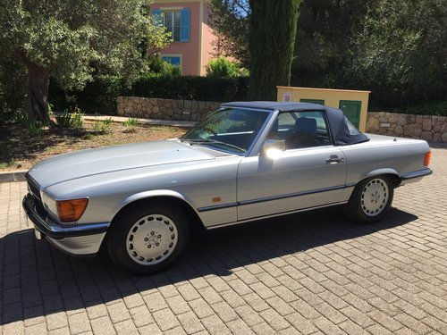 1986 MERCEDES 300SL SPORTS W107 For Sale (picture 2 of 6)