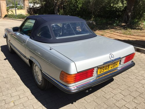 1986 MERCEDES 300SL SPORTS W107 For Sale (picture 3 of 6)