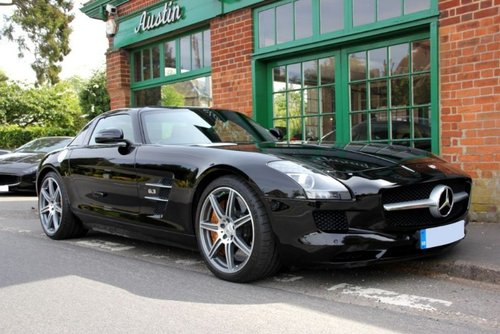 2011 Mercedes SLS AMG Coupe  SOLD (picture 2 of 4)