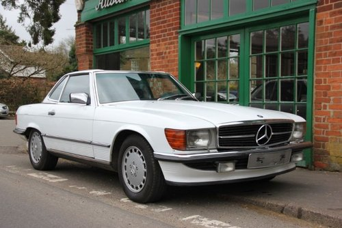1986 Mercedes SL560 Convertible LHD  For Sale (picture 2 of 4)