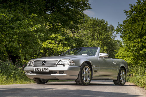2001 MERCEDES SL500 SILVER ARROW For Sale (picture 1 of 6)