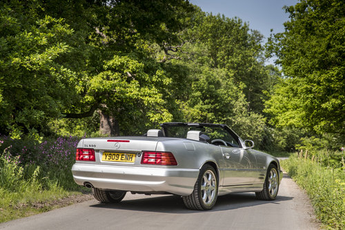 2001 MERCEDES SL500 SILVER ARROW For Sale (picture 2 of 6)