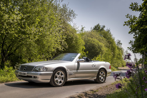 2001 MERCEDES SL500 SILVER ARROW For Sale (picture 3 of 6)
