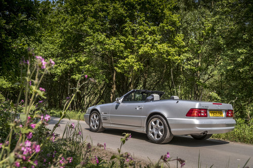 2001 MERCEDES SL500 SILVER ARROW For Sale (picture 4 of 6)