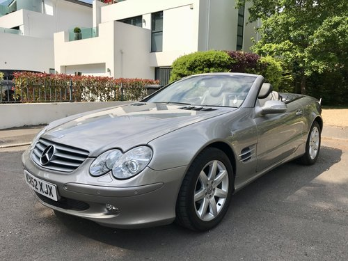 MERCEDES SL500 - 2002 - 60,000 miles FSH. For Sale (picture 1 of 6)