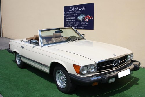 MERCEDES 380 SL OF 1980 For Sale (picture 1 of 6)