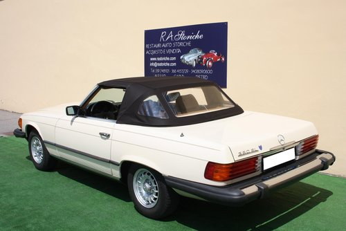 MERCEDES 380 SL OF 1980 For Sale (picture 2 of 6)
