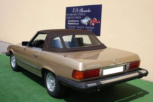 MERCEDES 380 SL OF 1981 For Sale (picture 2 of 6)