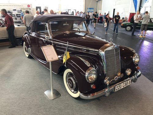 MERCEDES-BENZ  220 A CABRIO  (Type 187)  1953 For Sale (picture 6 of 6)