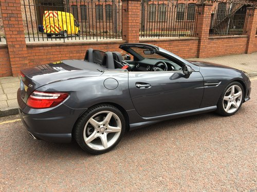 2013 Mercedes SLK 250 CDI AMG Sport, 29000miles, Immaculate  SOLD (picture 2 of 6)