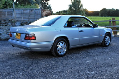 1995 Mercedes-Benz E320 Coupe 55,454 miles from new SOLD (picture 3 of 6)