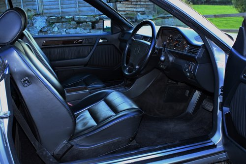 1995 Mercedes-Benz E320 Coupe 55,454 miles from new SOLD (picture 4 of 6)
