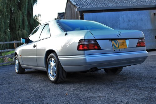 1995 Mercedes-Benz E320 Coupe 55,454 miles from new SOLD (picture 2 of 6)