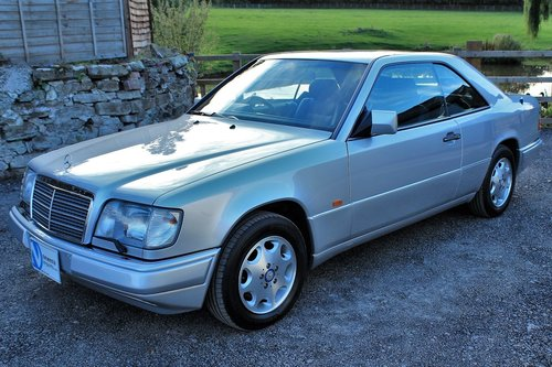1995 Mercedes-Benz E320 Coupe 55,454 miles from new SOLD (picture 1 of 6)