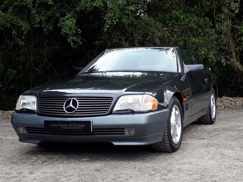 1992 STUNNING TIME-WARP MERCEDES SL 300 24V  For Sale (picture 1 of 6)