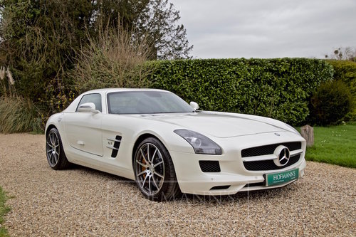 2012 SLS AMG Coupe Gullwing  SOLD (picture 1 of 6)